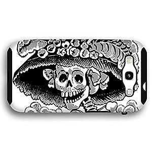 Day of the Dead Skull Skeleton Bride Samsung Galaxy S3 Armor Phone Case