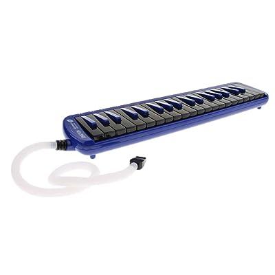 37 Teclas Melódicas De órgano Bucal Pianica para Niños Estudiantes Principiantes - Azul: Juguetes y juegos