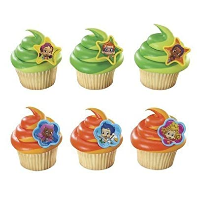 Nickelodeon Bubble Guppies Cupcake Rings 12 Pack: Beauty