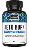 Keto Diet Pills - Weight Loss Fat Burner Supplements for Women and Men - Extra-Strength Exogenous Ketones with BHB & Appetite Suppressant - 60 Capsules