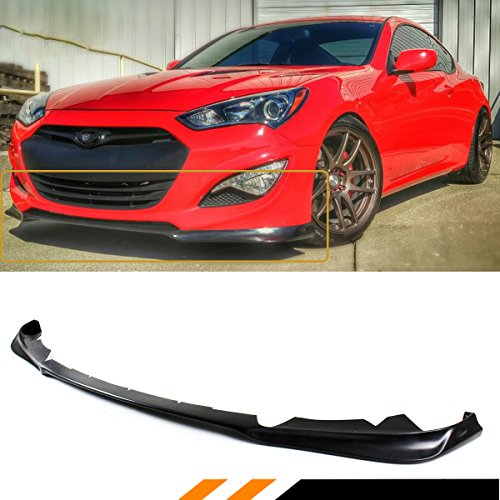 Lip Bumper Style Front - FITS FOR 2013-2016 HYUNDAI GENESIS COUPE KDM KS STYLE FRONT BUMPER LIP SPLITTER