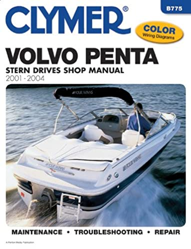 volvo penta stern drive shop manual 2001 2004 clymer marine repair rh amazon com Clymer Manuals XL75 Clymer Manuals Kawasaki
