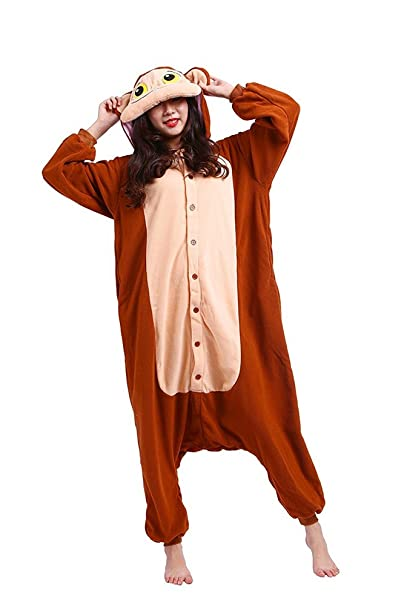 data di rilascio: bbf42 4c195 SAMGU Halloween Monkey Onesie Unisex Pigiami Animali degli ...