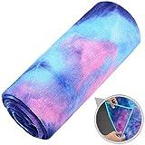 Ewedoos Yoga Mat Towel – Super Soft, Sweat Absorbent, Non-Slip Bikram Hot Yoga Towels, Ideal Hot Yoga, Pilates Workout.