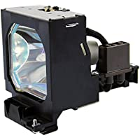 Emazne LMP-P200 Projector Replacement Compatible Lamp With Housing Works For Sony VPL-PX20 VPLPX20 VPL-PX30 VPLPX30 VPL-S50 VPL-S50M VPL-S50U VPLS50 VPLS50M VPLS50U VPL-VW10HT VPLVW10HT 180 Days