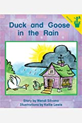Early Reader: Duck and Goose in the Rain Paperback