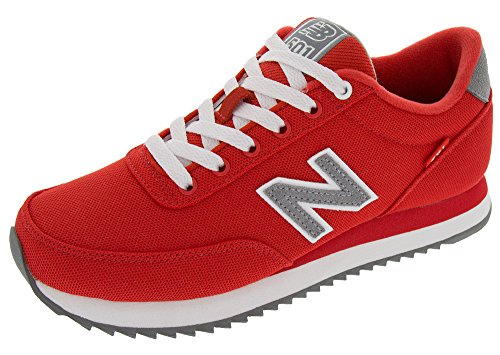 New Balance Men's MZ501 Pique Polo Pack Fashion Sneaker, Red/Gunmetal, 8.5 D US (Mens Red Sneakers)