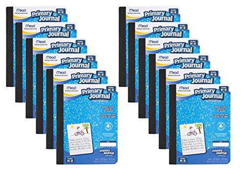 Mead Primary Journal Creative Story Tablet, Grades K-2 (09554) 12 Pack ()