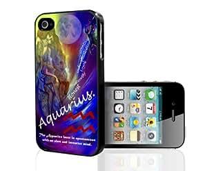 Aquarius Horoscope Hard Snap on Phone Case (iPhone 4/4s)