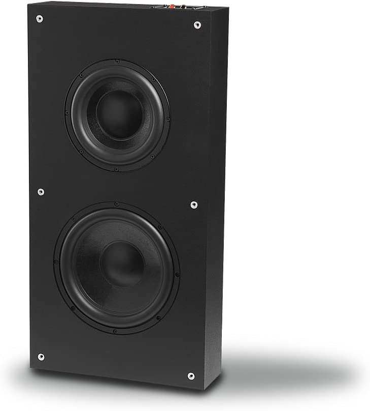 "OSD Audio 300W in-Wall Dual Drive Subwoofer - Sealed Enclosure Speaker, 8"" Woofer - SL800"