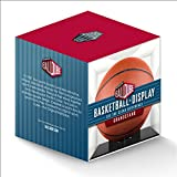 NBA Ball Qube Grandstand Basketball Display with Black Base