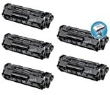 Canon Compatible 104 (0263B001) Toner Cartridges – Black, 2000 Yield, 5 Pack, Office Central