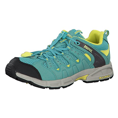 Meindl Unisex Kids' Respond Junior Low Rise Hiking Shoes turquoise w1Z3vd9aL