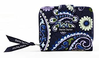 Bella Taylor Madrona Quilted Cotton Small Wallet