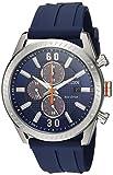 Citizen Men's 'Drive' Quartz Stainless Steel and Polyurethane Casual Watch, Color:Blue (Model: CA0661-01L)