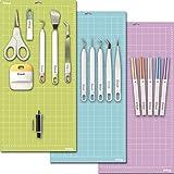 Cricut Tools Bundle - Mats, Weeding Tools, Pens, Cutting Blade & Basic Tools