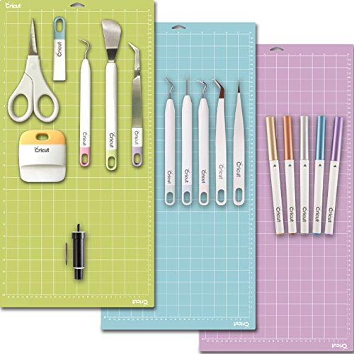 Cricut Tools Bundle - Mats, Weeding Tools, Pens, Cutting Blade & Basic Tools 4336980855