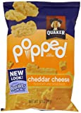 quaker popped cheese - Quaker Popped Rice Snacks, Cheddar Cheese, 60 Count