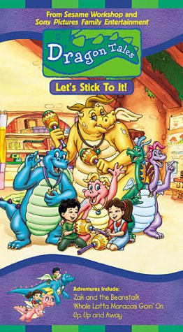 Dragon Tales - Lets Stick to It [VHS]