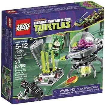 Amazon.com: LEGO Ninja Turtles Kraang Lab Escape 79100: Toys & Games