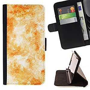 BullDog Case - FOR/LG G2 D800 / - / wallpaper sun solar system yellow fire /- Monedero de cuero de la PU Llevar cubierta de la caja con el ID Credit Card Slots Flip funda de cuer