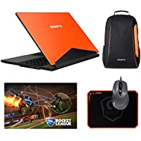 Gigabyte Aero 15W-OG4 (i7-7700HQ, 16GB RAM, 512GB SATA SSD, NVIDIA GTX 1060 6GB, 15.6 Full HD, Windows 10) VR Ready Gaming Notebook – Orange