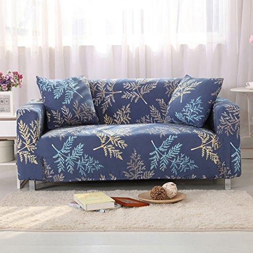 Blue Vinyl Sofa - 2