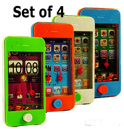 - Smart Phone Ring Toss Games (Set of 4) Different Game Scenes and Colors