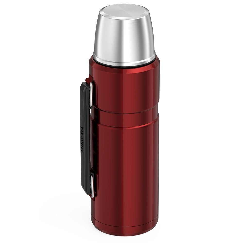 Thermos Stainless King 40 Ounce Beverage Bottle, Cranberry by Thermos (Image #3)