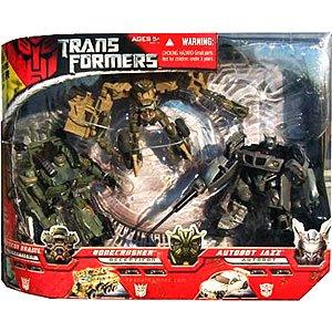 Transformers Movie 3 Pack, Autobot Jazz, Bonecrusher,