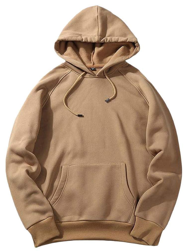 CMCYY Mens Casual Pocket Drawstring Pullover Hooded Sweatshirts