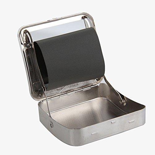 Caja de metal para máquina de liar de tabaco con ruedas ...
