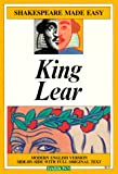 Image of King Lear (Shakespeare Made Easy)