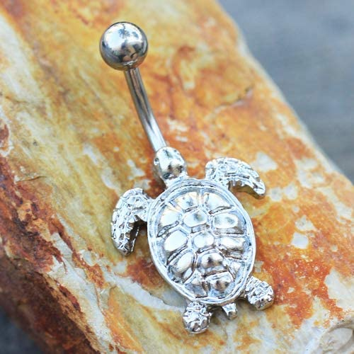 Details about  /Piercing Navel Steel Surgical Tortoise