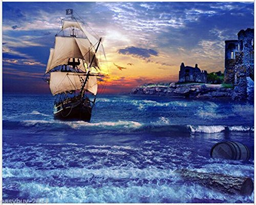 The Ship Diamond Embroidery 5d Diamond DIY Painting Cross Stitch Queenlink easby-020