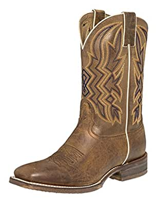 "Nocona Western Boots Mens Cushion Insole 11"" 10 D Brown Toga NB3004"