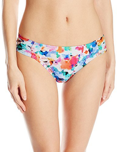 Kenneth Cole Reaction Women's Cabana Cutie Sash Tab Bikini Bottom , Multi, Large