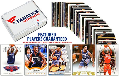 Charlotte Hornets Team Trading Card Block/50 Card Lot - Fanatics Authentic Certified - Basketball Team Sets