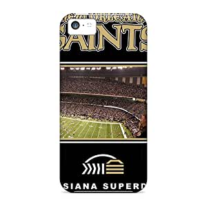 Durable Protector Cases Covers With New Orleans Saints Hot Design For Iphone 5c