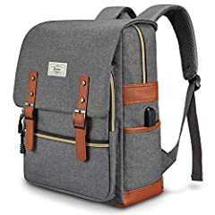 Unisex School Backpack Size: 42cm x 30cm x 13cm/ 17'' x 12'' x 5.5'' Color: Dark Gray Made of high quality waterproof material. Two durable magnetic buttons for the front flap. Magnetic snap button for your security. Double zippers for the ma...