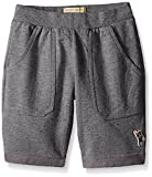 Lucky Brand Big Boys Speckle Knit Short, Dark Charcoal Heather, Large