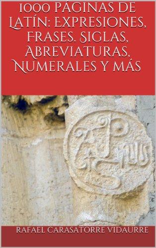 1000 Páginas De Latín Expresiones Frases Siglas