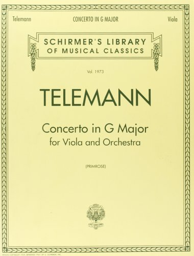 Concerto in G: Schirmer Library of Classics Volume 1973 (Schirmer's Library of Musical Classics,vol. 1973)