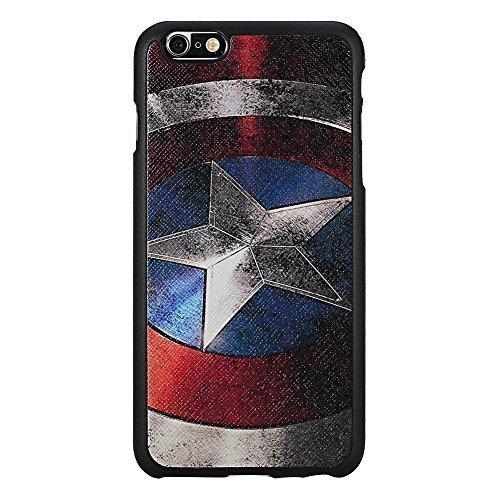 Iphone 6 Plus Case [Non-slip][high Quality Polycarbonate Materiais]iphone 6 (5.5)case [Tin Fit A] Captain America(Blue)