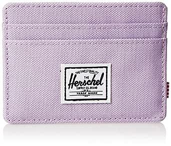 Herschel Unisex-Adult Charlie RFID Wallet, Lavendula Crosshatch - 10360