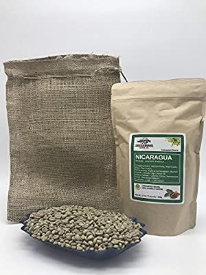 NICARAGUA Specialty-Grade, CURRENT-CROP Green Unroasted Coffee Beans – SantaRita – Natural Fermentation Process, Washing in Running Channel, Sundried, Resting 60 days