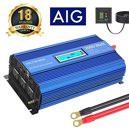 Power Inverter 2000w DC