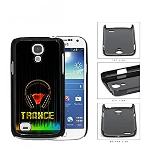 Love Trance Music With Colorful Equalizer Hard Plastic Snap On Cell Phone Case Samsung Galaxy S4 SIV Mini I9190 by supermalls