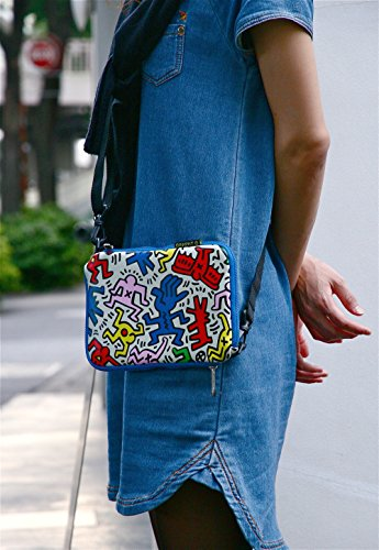 GRAPHT Keith Haring Official Licensed Collection Sleeve for iPad mini, Chaos (APA07-003CH) Photo #2