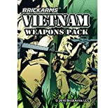 BrickArms Vietnam Weapons Pack Minifigure Scale